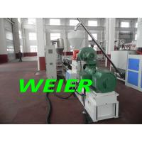 Quality WPC Granules Plastic Pelletizing Equipment Wtih Parallel Double Screw Extruder for sale