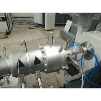 China Single Screw PVC Pipe Extrusion Line High Pressure Radiant Heating System on sale