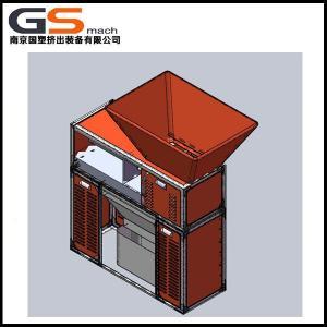 China Mini Plastic Bottle Shredder Machine For Soft Packing Belt / Plastic Bag Shredder Machine on sale
