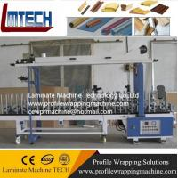 Quality Profile wrapping machine for the woodworking industry for sale