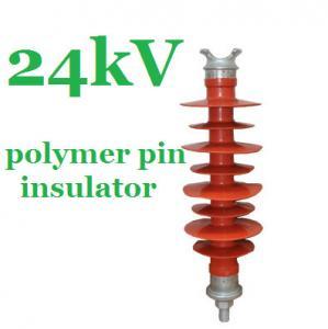 IEC 61952 Standard Polymer Pin Insulator 24kV for Overhead Distribution Lines