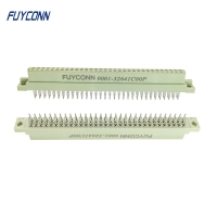 Quality 2 Rows Female 16pin 32pin 64pin Solderless PCB Eurocard Connector for sale
