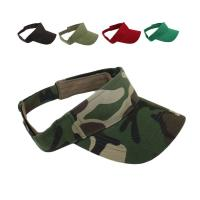 Buy cheap Colors Sun Visor Hat Adjustable Golf Sports Unisex Cap Patches Panel Style from wholesalers