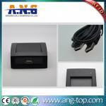 Quality FDX-B 134.2KHz animal microchip tag RFID desktop LF reader with USB for sale