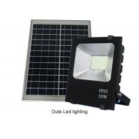 Quality 50W Solar Powered Led Flood Lights Outdoor / Solar Powered Motion Lights 13 Hours for sale