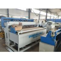 Quality 3 - 5mm Wire Construction Mesh Welding Machine High Speed Production And Strong Welding for sale