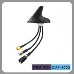 """Quality Round Shape Car Gsm Gps Antenna , AM FM Car Antenna 12"""" Cable Length for sale"""