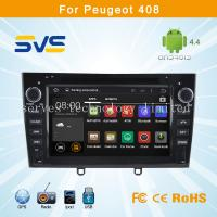 Quality Android 4.4 car dvd player GPS navigation for Peugeot 408 308 with radio bluetooth, usb sd for sale