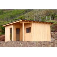 Quality 4 Person Outdoor Sauna Kit, Solid Wood Sauna House For Weight Loss for sale