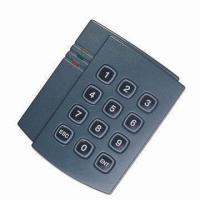 Quality RFID slave Mifare card reader, built-in electric buzzer for audible card entry and programming for sale