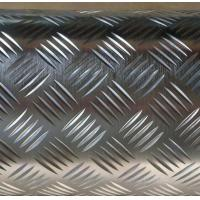 Quality Diamond Pattern Five Bar Pattern Aluminium Checker Plate Used For Truck Floor for sale
