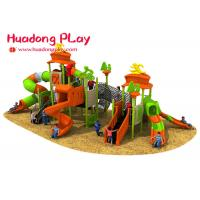 Quality Large Entertainment Park Children Outdoor Playground Slides For 3-12 Years Old for sale