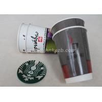 Quality Hot Beverage Disposable Double Walled Paper Coffee Cups Custom Logo Printed for sale