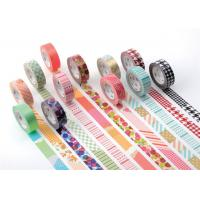Quality Lace Washi Masking Tape Keyboard With Personalized Colored Designs for sale