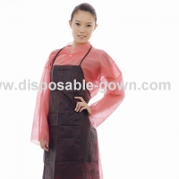 Quality Waterproof Single Use Nonwoven Apron For Protection Body for sale
