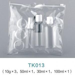 Quality Cosmetic Packaging 30ML 50ML 100ML Plastic Spray bottles Travel Bottle Kit With PVC Bag for sale