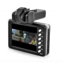 Quality Motion detection wide view angle 120 degree Dual Camera Car DVR / HD(1280*720) for sale