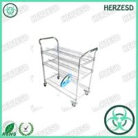Quality HZ-28104 Three Layers ESD Wire Shelf Reel Trolley for sale