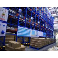 Quality Semi Autometic Heavy Duty Radio Shuttle Racking System for Industrial Storage Management for sale