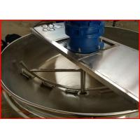 Quality Stainless Steel Electric Steam Jacketed Kettle , Electric Tilting Kettle For Food Industry for sale