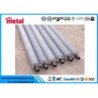 Quality High Thermal Conductivity Extended Surface Boiler Air Heater Tubes WT 1.4mm Length 3.9m for sale