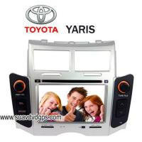 Quality Toyota Yaris In-dash Car DVD Player Built-in GPS,steering wheel for sale