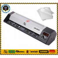 China Hot / Cold Laminating Desktop Laminator Machine Laminating Width 460mm For A2 A3 A4 size on sale