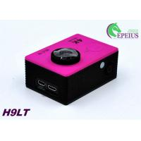 Quality Mini 30M H9 LT 4k Sports Action Camera With Seven Colors Full Accessories for sale