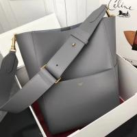 CELINE seau sangle bucket bag cow leather high quality replice with good  price Images 4ba043f032e60