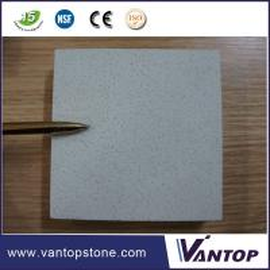 China Fine Grain White Silestone Man Made Quartz Countertops Bathroom Vanitytop on sale