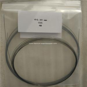 Quality nitinol wire ,titanium shape Memory alloy wire ,nitinol memory wire dia 0.3mm for sale