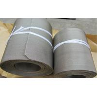 Quality stainless steel 304 reverse dutch weave filter wire mesh belts for Laminating machine for sale