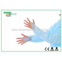 Quality Disposable Medical CPE Isolation Gown With Thumb Cuff for sale