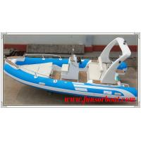 China Durable 18 Foot Hard Bottom Inflatable Rib Boats 10 Person Inflatable Boat on sale