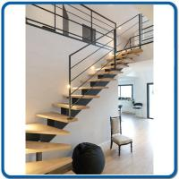 Buy Cheap Steel Stainless Steel 304 And Wooden Staircase And Glass Staircase  Rail New From Wholesalers