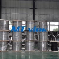 Quality S32205 Duplex Steel Coiled Tubing Chemical Injection Line Cold Drawn for sale