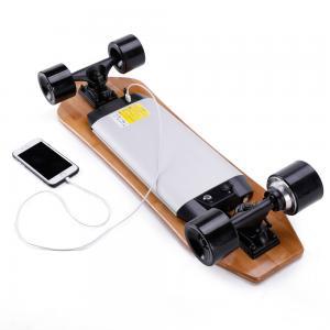 Quality Custom Sport Boosted Electric Skateboard Dual Hub Motors Drive 813*260*140mm for sale