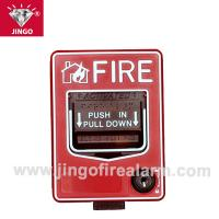 Quality Addressable fire alarm systems 2 wire (reset) manual call point,break glass for sale
