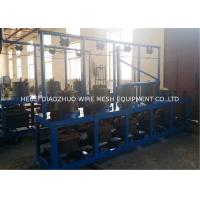 Buy cheap Galvanized Wire Pulley Type Continous Wire Drawing Machine Energy Saving from wholesalers