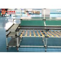 China Food Grade Power Roller Conveyor Systems With Wire Mesh Stainless Steel Table on sale
