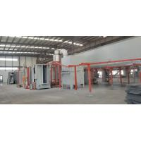 Buy cheap Professional Spray Coating Line Semi Automatic Centrifugal Mechanism White Blue from wholesalers