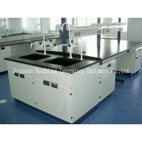 Quality Research Lab Bench Furniture 3*1.5*0.85m Table Size With Adjustable Feet for sale