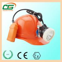 China Led Mining Headlamp Ni-MH Battery Rechargeable With Short Circuit Protection Device on sale