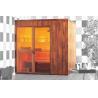 Buy cheap Hot Tub German Saunas Bath, Hemlock Wood Home Sauna Room from wholesalers