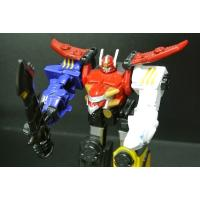 China Super Champion Figure Transformer Robot Toy Plastic With Two Different Legs on sale