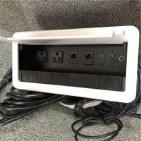 Buy cheap Embedded Conference Table Electrical Box Aluminum Alloy Material from wholesalers