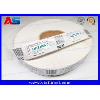 Quality High Quality Steroids 5 ml Vial Label Sticker  Customized Printing Strong Adhesive Labels In Rolls for sale