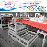 Quality pet roofing corrugated pvc roof tile composite roof tiles machinery for sale