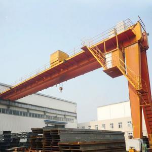 Quality Semi Workshop Gantry Crane Electric hoist 10ton Half 4 Meters High Light Duty for sale