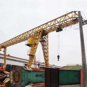 Quality Workshop Manual Gantry Crane Mobile High Lifting Span 380V 50HZ 3Phase for sale